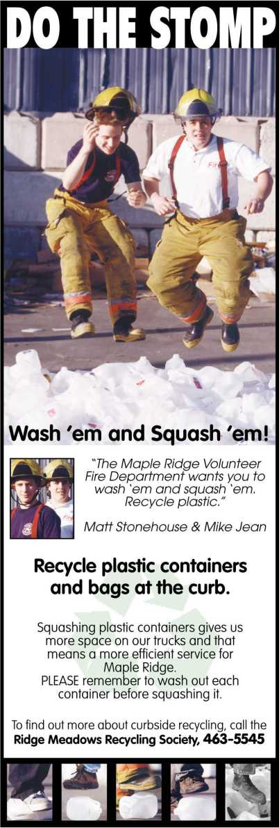 Ridge Meadows Firefighters Stomp